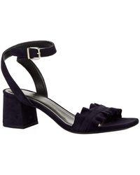 Claudie Pierlot - Ruffle Strap Sandals - Lyst