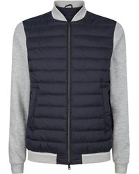 Herno - Padded Bomber Jacket - Lyst