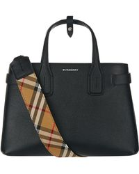 Burberry - Small Banner Tote Bag - Lyst