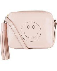 Anya Hindmarch - Patent Smiley Cross Body Bag - Lyst