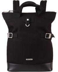 Saint Laurent - Canvas Covertible Backpack - Lyst