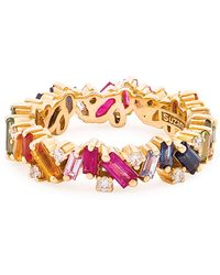 Suzanne Kalan - Yellow Gold Rainbow Fireworks Bliss Band - Lyst