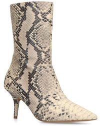 Yeezy - Snake Print Ankle Boots 70 - Lyst