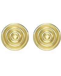 Theo Fennell - Gold Whip Stud Earrings - Lyst