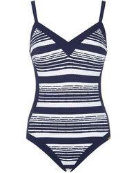 Maryan Mehlhorn - Cruise Stripe Swimsuit - Lyst