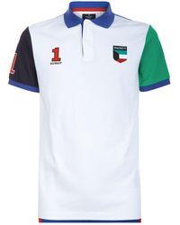 Hackett - Kuwait Badge Polo Shirt - Lyst