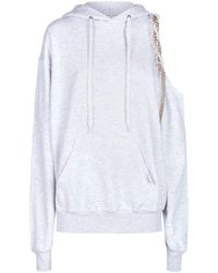 Forte Couture - Cold Shoulder Hoodie - Lyst
