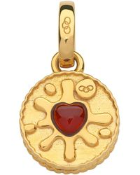 Links of London - Yellow Gold Jammy Dodger Charm - Lyst