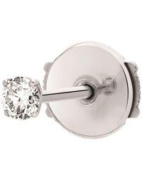 Vanrycke Single King One Diamond Earring - White