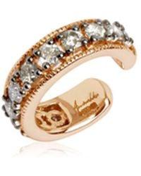 Annoushka - Dusty Diamonds Rose Gold Hinged Ear Cuff - Lyst