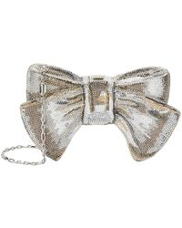 Judith Leiber - Just For You Bow Minaudire - Lyst