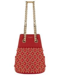 Elie Saab - Small Embellished Bucket Bag - Lyst