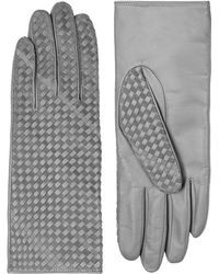 Armani - Ac 1 Glove Lthr W/ Metallic Heen Lt - Lyst