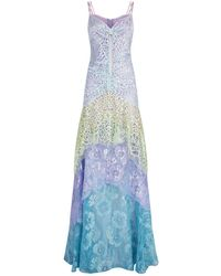 Peter Pilotto - Lace Cami Gown - Lyst