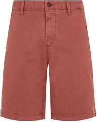 PAIGE - Thompson Twill Shorts - Lyst