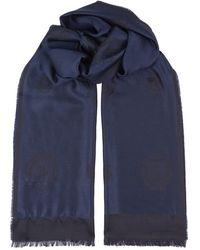 Billionaire - Wool-silk Crest Scarf - Lyst
