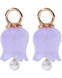 Annoushka - Lavender Jade Tulip Earring Drops - Lyst