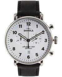 Shinola - The Canfield 43mm Watch - Lyst