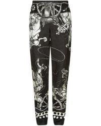 Dolce & Gabbana - Old West Print Pyjama Bottoms - Lyst