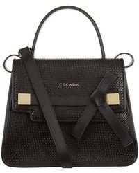 ESCADA - Woven Leather Satchel Bag - Lyst