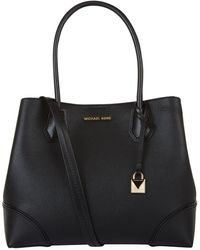 MICHAEL Michael Kors - Mercer Gallery Leather Tote Bag - Lyst