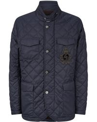 Dolce & Gabbana - Quilted Crown Jacket - Lyst