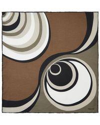 Tom Ford - Marble Print Pocket Square - Lyst