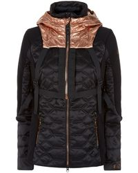 Armani - Detachable Hooded Backpack Jacket - Lyst