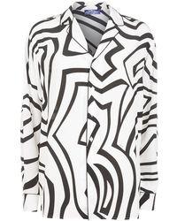 Emilio Pucci - Labarinto Silk Pyjama Shirt - Lyst