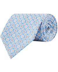 Stefano Ricci - Silk Mediterranean Print Tie - Lyst