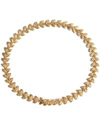 Annoushka - Yellow Gold Vine Bracelet - Lyst