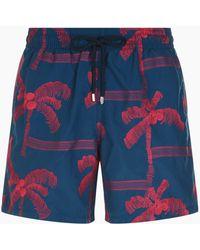 Vilebrequin - Palm Tree Mistral Swim Shorts - Lyst