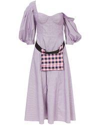 Natasha Zinko - Corseted Belt Bag Dress - Lyst