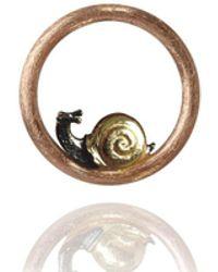 Annoushka - Hoopla Snail Pendant - Lyst