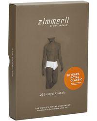 Zimmerli - Royal Classic Briefs - Lyst