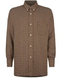 Our Legacy - Gingham Shirt - Lyst
