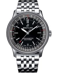 Breitling - Stainless Steel Navitimer 1 Automatic Watch 38mm - Lyst