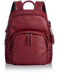 Tumi - Leather Dori Backpack - Lyst