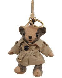 Burberry - Thomas Trench Bear Charm - Lyst