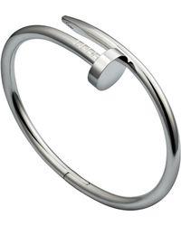 Cartier - White Gold Juste Un Clou Bracelet - Lyst