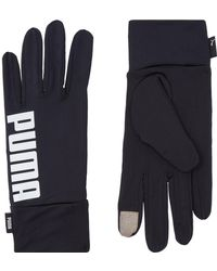 PUMA - Performance Running Gloves - Lyst