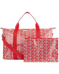Harrods - Red Bus Overnight Packable Bag - Lyst
