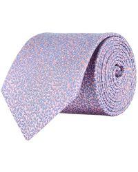 Eton of Sweden - Leaf Print Tie - Lyst