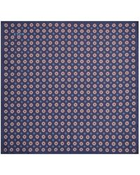 Eton of Sweden - Fuji Mosaic Pocket Square - Lyst