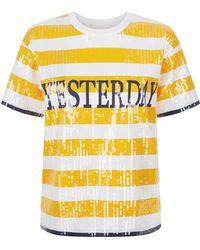 Alberta Ferretti - Sequin Tomorrow T-shirt - Lyst