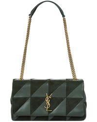 Saint Laurent - Medium Jamie Patchwork Leather Bag - Lyst