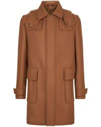 Corneliani - Virgin Wool Coat - Lyst