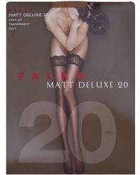 Falke - Matt Deluxe 30 Stockings - Lyst