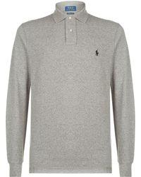 Ralph Lauren - Long Sleeved Polo Shirt - Lyst