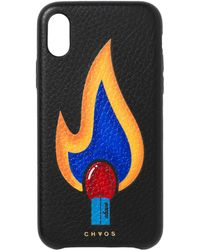 Chaos - Leather Match Iphone X Case - Lyst